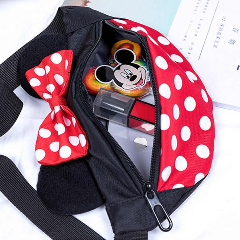 ca596e200f Disney Mickey Mouse Children's Backpack Cartoon Shoulder Bag Messenger Bags  Kindergarten Men and Women Baby Packet Birthday Gift