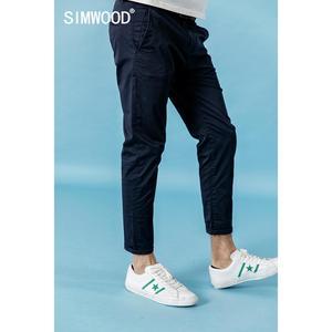 Image 3 - سيموود 2020 ربيع جديد الكاحل طول سراويل تقليدية الرجال السراويل المرنة حجم كبير ماركة الملابس عالية الجودة 190317