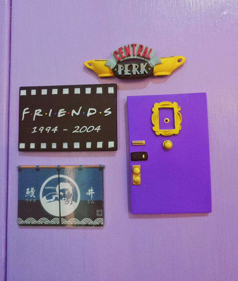 Latest Friends Tv Show Peephole Picture Frame Zachary