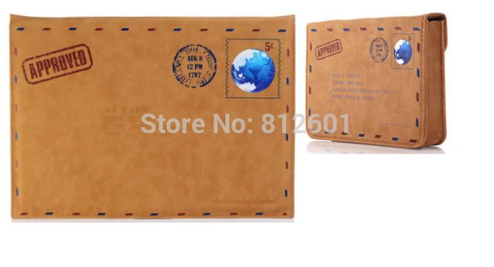 Роскошный качественный кожаный чехол конверт в стиле ретро, защитный чехол для Mac book AIR/PRO Retina 13,3 13 для Macbook без логотипа