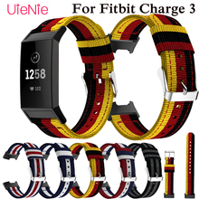 For Fitbit Charge 3 frontier/classic Nylon Replacement wrist band For Fitbit Charge 3 smart watch wristband bracelet accessories все цены