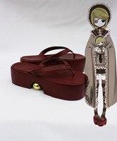 Vocaloid Hatsune Мику Рин Косплей Обувь Аниме Сандалии Флип-Флоп