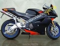 Hot Sales,03 06 RSV 1000 Mille R Aftermarket Fairing for Aprilia RSV1000 2003 2004 2005 2006 RED BLACK bodykits