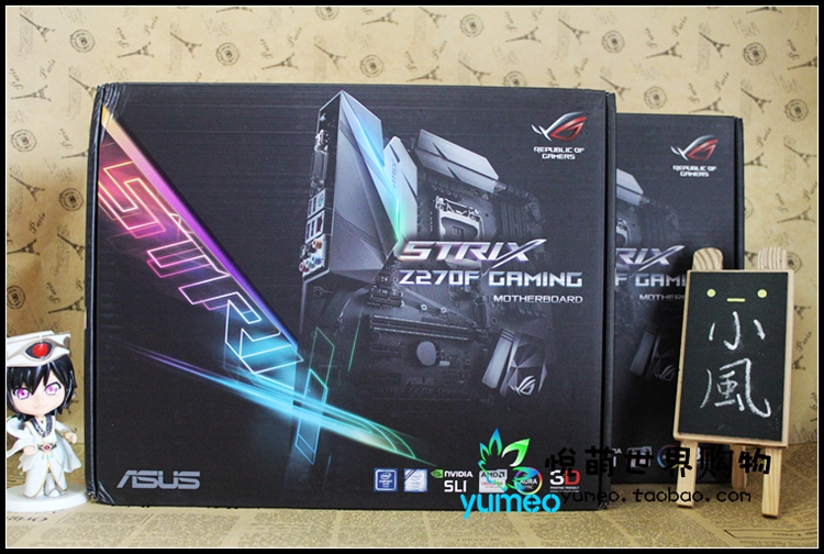 ASUS ROG strix Z270F настольных игр PC Игры доска
