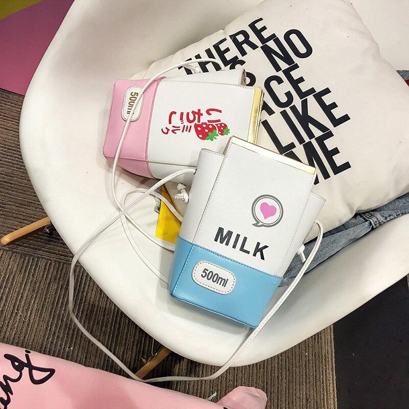 Kawaii Japanese Milk Shoulder Bag 1