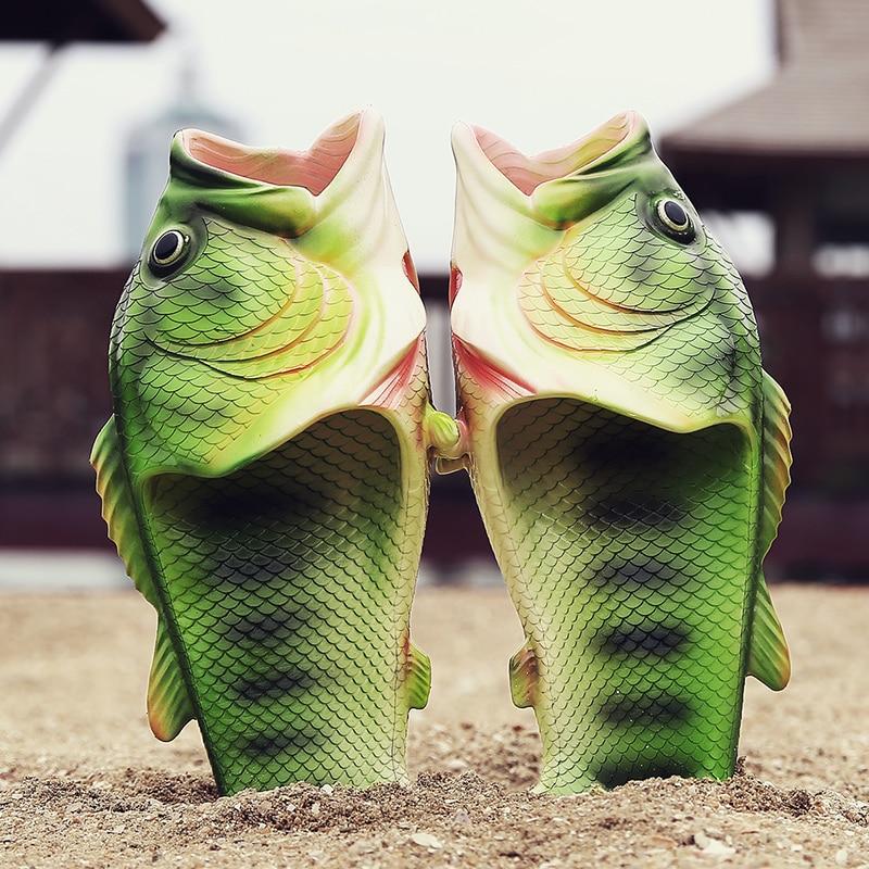 2017 New Fashion Men Sandals Shoes Croc Slippers Flip Flops Sandals Family Beach Shoes Size 24-47 Breathable Personality Strange