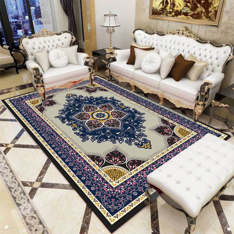 European flower Persia carpet bedroom bedside living room sofa coffee table full kitchen rug tatami mat household washable soft