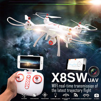 SYMA X8SW RC Helicopter Air Ground Drones Professional 2 4G 4CH Remote Control Quadcopter For Children