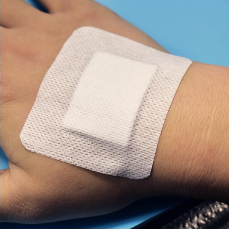 10PCs 10*30cm Large Size Hypoallergenic Non-woven Medical Adhesive Wound Dressing Band Aid Bandage Large Wound First Aid Outdoor