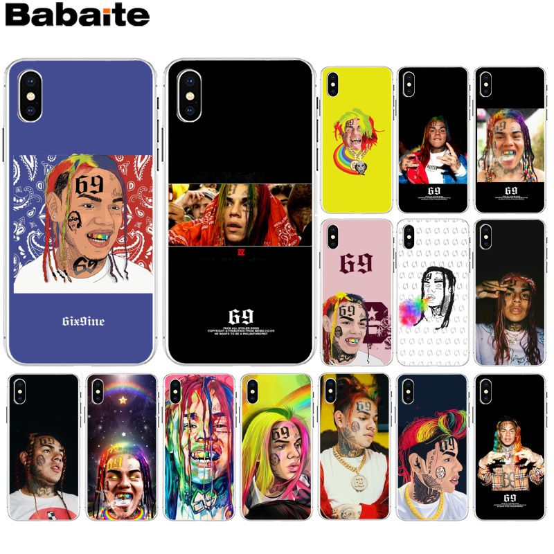 Babaite Xxxtentacion Music Novelty Fundas Phone Case Cover For Apple Iphone 8 7 6 6s Plus X Xs Max 5 5s Se Xr Cover High Quality Half-wrapped Case Cellphones & Telecommunications