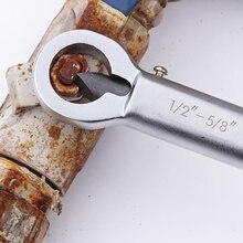 """Горячая Регулируемая 1/2 ''-5/8''& 5/""""-7/8"""" гайка сплиттер крекер 12-16 мм гайка для удаления экстрактор инструмент"""