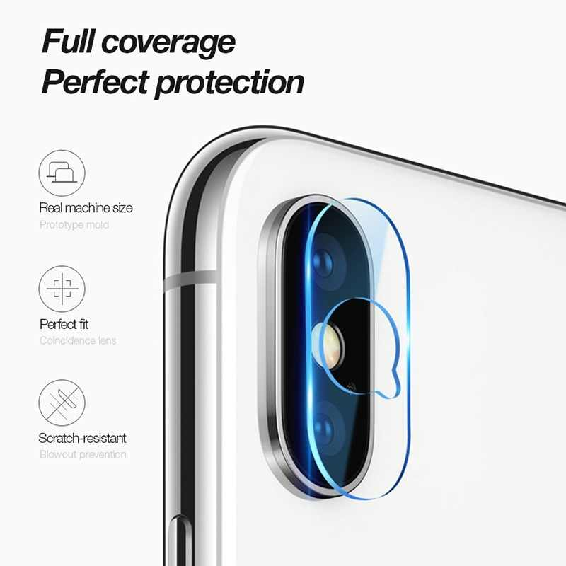 Glass Screen Protector Full Cover for IPhone X XR XS Max Camera Phone Lens Case for IPone 6 6s 7 8 Plus Etui Bumper Accessories
