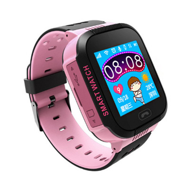 STRYVE T09 GPS Smart Watch With Camera Flashlight Kids Watch SOS Call Location Track Children's Safety Fence Alarm Digital Clock 3