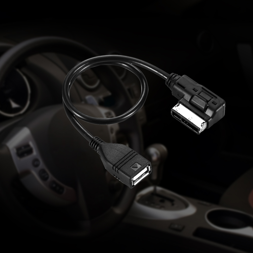FORNORM MAMI MMI MDI to USB Cables MP3 MP4 Data Charging Adapter Audio Music Interface for VW Audi A4 A3 A5 A8 A6 30off