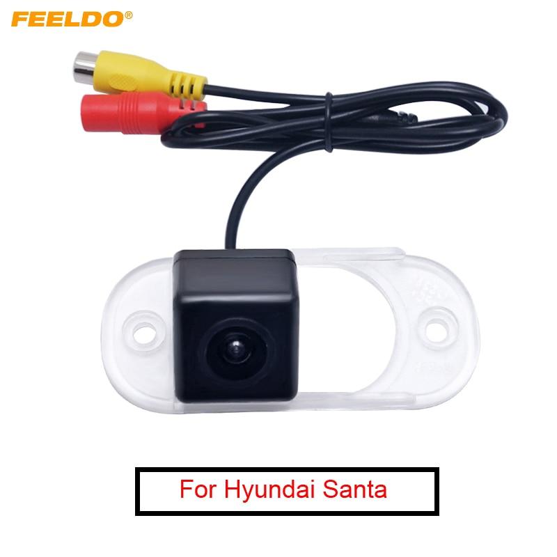 FEELDO Car Rear View Camera For Hawtai Bolgheri For Hyundai Santa Fe Classic SM Backup Parking Camera #MX4179