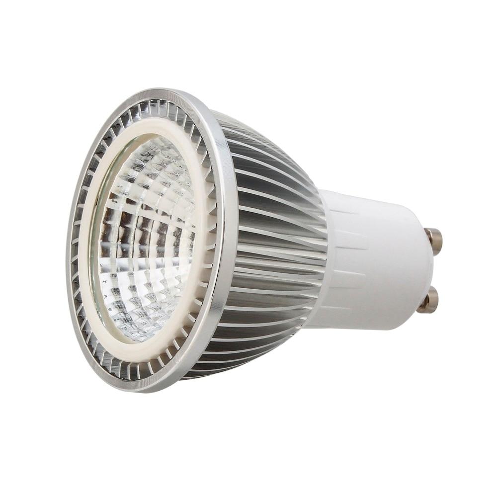Светодиодный прожектор 5 Вт 7 Вт 9 Вт GU10 COB прожектор лампа высокого Мощность белый теплый белый Лампы для мотоциклов AC85-265V свет бренд, оптовая...