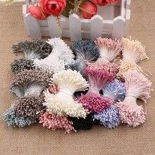 400pcs 1 5mm Mini Stamen Artificial Flower Head Supplies For Wedding Party font b Home b