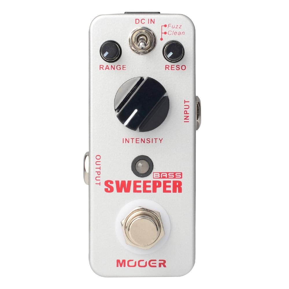 Mooer Sweeper Bass Dynamic Envelope Filter Pedal for Bass and Guitar True Bypass MFT1 mooer sweeper bass effects pedal dynamic envelope filter