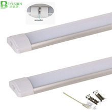 10pc/lot 10W 20W 40W LED Tube Linear Light Batten Clean Purification Light LED Tri-proof Light purified Tube lamp For Garage