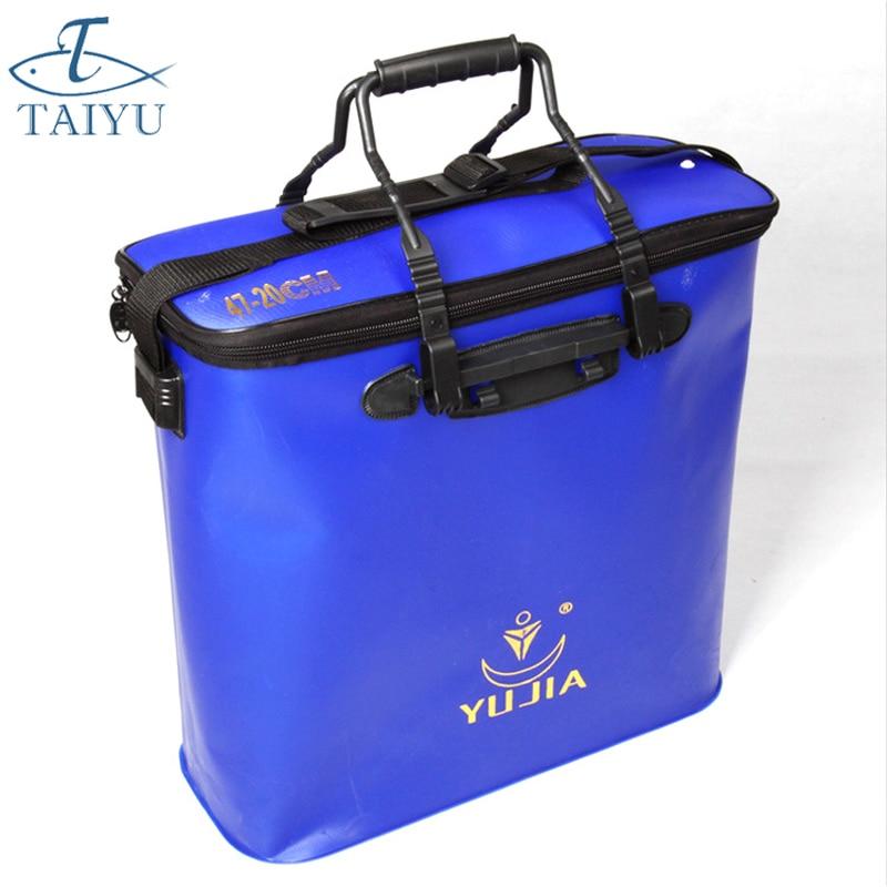 2018 Yeni 47 * 20 * 45cm EVA Çox funksiyalı Balıq torbası Pesca - Balıqçılıq - Fotoqrafiya 1