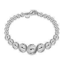 Tjp популярный браслет из стерлингового серебра 925 пробы женские