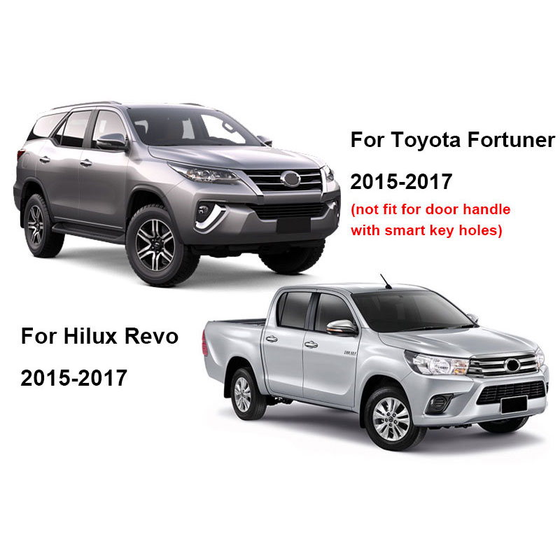 US $138 72 35% OFF|white Bonnet Scoop Hoods Covers For Toyota Fortuner  AN160 HILUX SW4 Revo 2015 2016 2017 2018 car accessories BONNET SCOOP  YCSUNZ-in