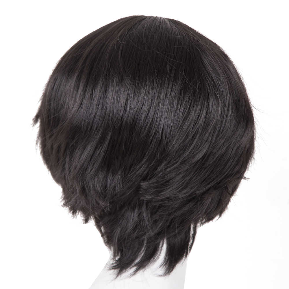 Black Wig Fei-Show Synthetic Heat Resistant