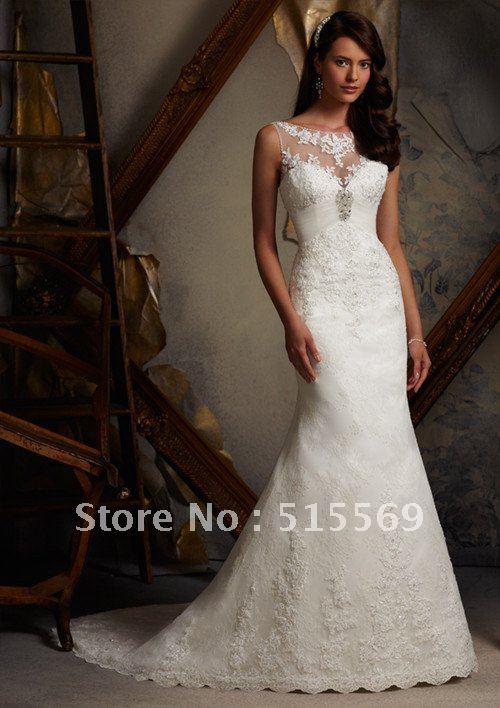 Unique Lace Wedding Gowns