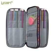 Looen Empty Crochet Hook Bag Storage Pouch Knitting Kit Case Organizer For Sewing Needles Scissors Accessory