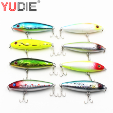 1 pcs Fishing Lure Deep swim 3D glasses hard bait fish 8cm 12g baits Minnow Hard