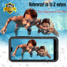 IP68 Waterproof Case for Huawei P20 Pro 360 Full Cover Protection P20Pro Diving Swimming Shockproof