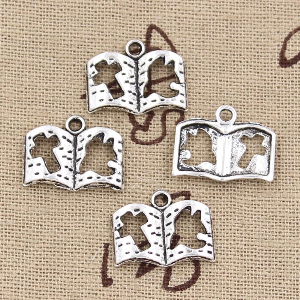 free ship 50 pieces tibetan silver peace dove charms 29x17mm #3043