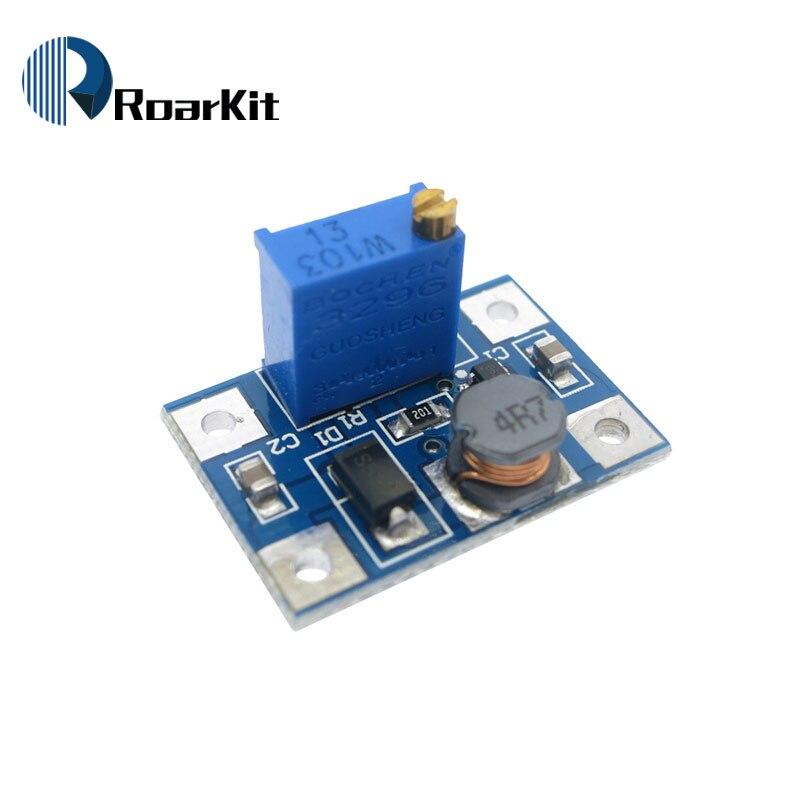 Регулируемый силовой модуль с 2-24 В на 2-28 в, регулируемый силовой модуль, повышающий преобразователь, 2 А, SX1308
