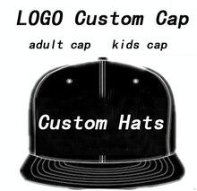 Hommes chapeau personnalisé casquettes de Baseball LOGO broderie Snapback casquette personnalisée chapeaux Hip Hop Mujer os casquette personnalis Masculino vente en gros