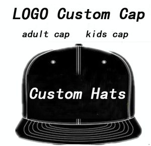 Image 1 - Men Custom Hat Baseball Caps LOGO Embroidery Snapback Cap Customized Hats Hip Hop Mujer Bone Streetwear  Masculino Wholesale