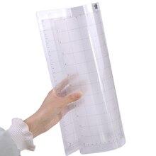 Сменный режущий коврик с прозрачной прокладкой и измерительной сеткой 30,5X30,5 см силуэт плоттер инструмент