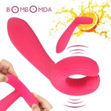 12 Speeds Dildo Vibrator For Women Clitoris Clip Vagina Penis G spot Stimulator Nipple Massager Erotic