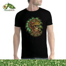 Indian Skull Totem Mens T-shirt S-3XLNew T Shirts Funny Tops Tee New Unisex High Quality Casual Printing 100% Cotton