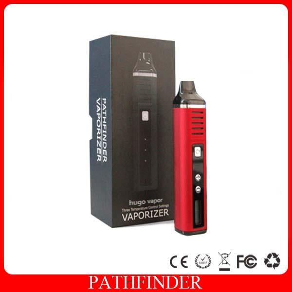 original Hugo Vapor 2200mAh Pathfinder V2 Dry Herb Wax Kit Vape Pen mod electronic cigarette met