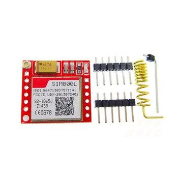 5 unids/lote más pequeño SIM800L GSM GPRS módulo de tarjeta microsim Placa de núcleo Quad-band puerto serie TTL (hecho en china)