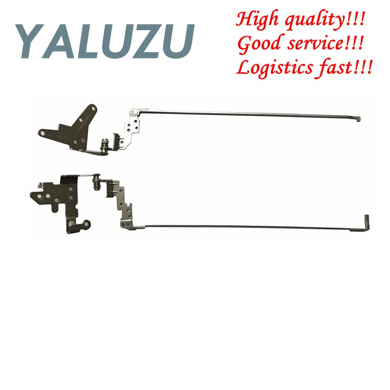 YALUZU NEW For HP PROBOOK 450 G2 455 G2 450G2 455G2 LCD Screen Support Bracket Hinges Left &Right L&R AM15A000100 AM15A000200