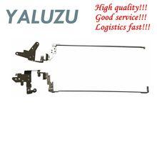 YALUZU bisagras de soporte para pantalla LCD, para HP PROBOOK 450 G2 455 G2 450G2 455G2, izquierda y derecha, AM15A000100 AM15A000200