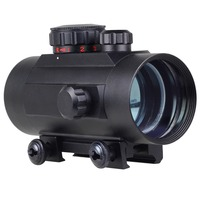 Holographic Tactical Laser 1 X 40mm Illuminated Red Green Dot Sight 40mm Rifle Red Dot Scope