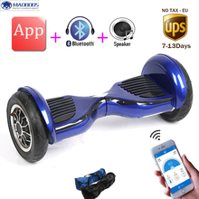 Tax free App control Self Balance Scooter body feeling twisting Electric Overboard Oxboard Unicycle Balance electric Hoverboard