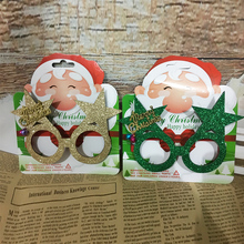 Handmade glasses frame Christmas decoration  Childrens no lens eye gift party