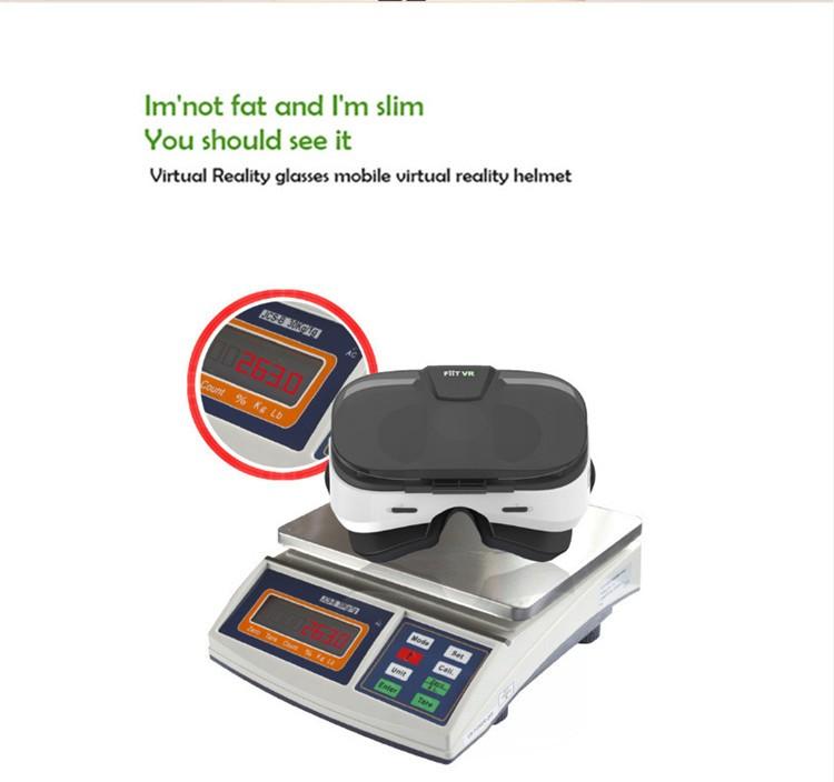 FIIT VR 3D Virtual Reality Video Helmet Cardboard 2.0 VR Glasses Box for 4.0-6.5 inch Smartphone Lightweight Ergonomic Design (15)