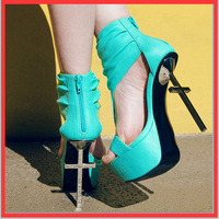 Sestito Woman Sexy Crucifix Gold Thin High Heels Dress Runway Shoes For Ladies Peep Toe Gladiator Sandals Girls Platform Shoes
