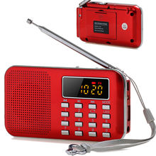 Radio FM Dab AM Digital Portable Mini Retro Mp3 Speakers WS Pocket World Band Receiver Speaker AUX USB TF LED Laptop Antenna цена 2017