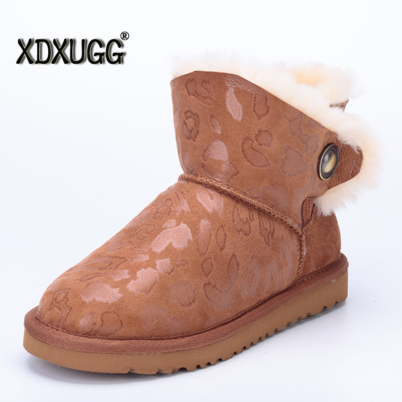 Australia sheep skin wool one snow boots female with winter flat bottomed buckle warm short boots,Large size/ free shipping ubz women snow boots australia sheepskin wool snow boots female winter flat shoes bottomed buckle warm boots botas mujer
