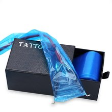 Tattoo Clip Cord Machine Covers Bags 100pcs/box Tattoo Clip Cord Sleeves Covers Bags Tattoo Accessory Accessories